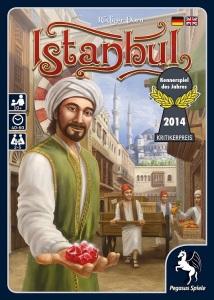 Istanbul - Kennerspiel des Jahres 2014 Vorderseite